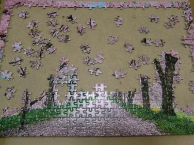 桜パズル1