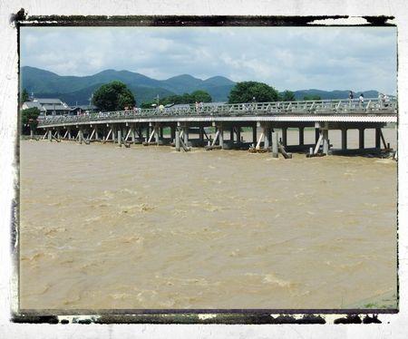 ブログ渡月橋