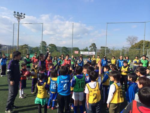 朝日新聞&サンフレッチェ ファミリーサッカースクール(2014:2:23 日)