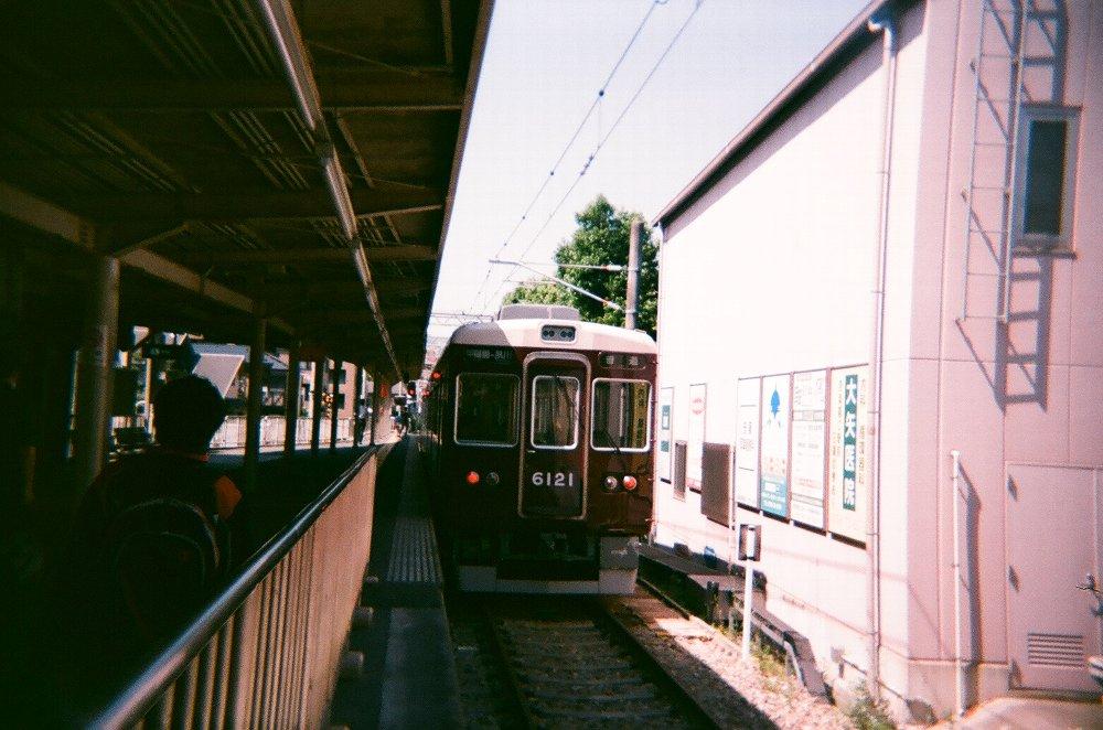 JAPAN OPTICSのConcord C180で撮った阪急電車