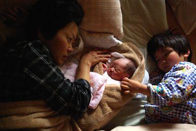 赤ちゃん生まれた