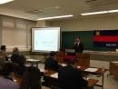 H26 4 26 講演会 写真② 福澤精神研究会の紹介