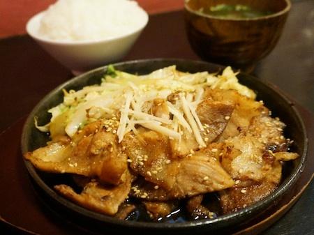 豚生姜焼き450