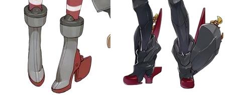 艦娘の靴って?