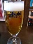 生ビール@情熱うどん讃州新大阪店