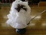 かき氷手作りあずき@山麓亭お犬茶屋