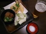 生ビールセット@情熱うどん讃州新大阪店