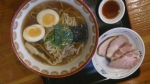 wチャーシュー麺味玉付き@自然派ラーメン神楽