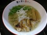清澄鶏塩らーめん@麺屋彩々昭和町本店