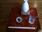 菊正宗の樽酒@並木藪蕎麦