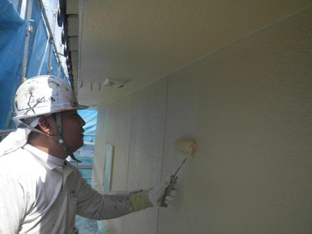 外壁上塗り (5)
