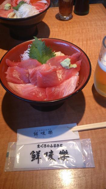 マグロ丼20140519
