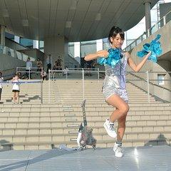 世界エアギター選手権で優勝した名倉七海さん