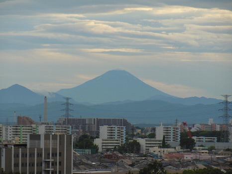 夏の黒富士
