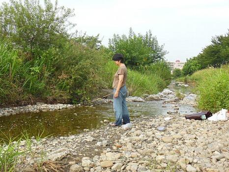 空堀川の釣り