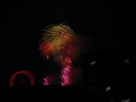 西武園の花火2