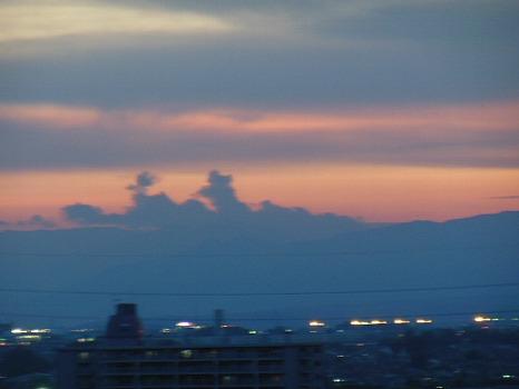 夕焼け夏の終り4