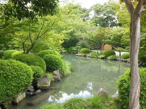 京都東寺の池