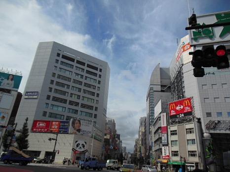 9月新宿西口