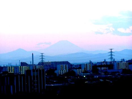 9月の富士