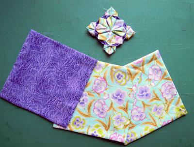 折り紙パッチワーク1