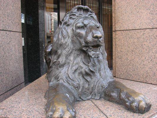 銀座三越ライオン