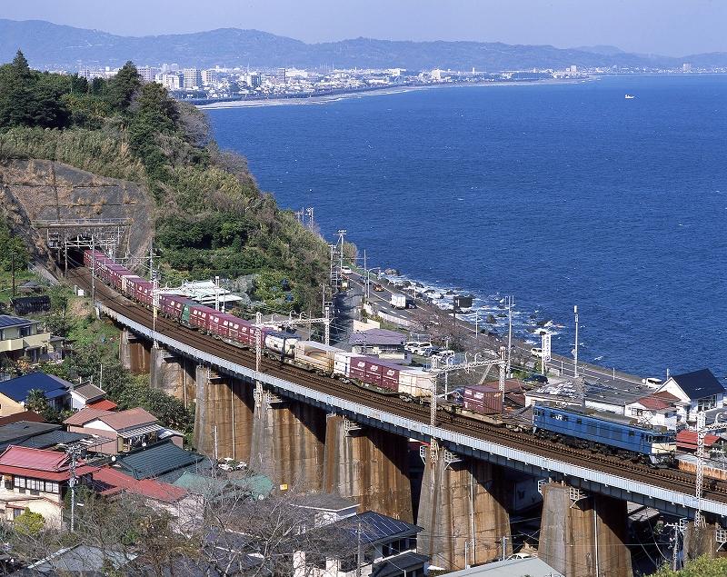 EF64 石橋鉄橋