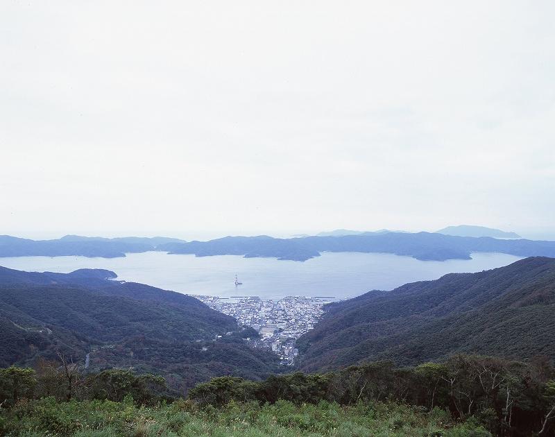 高知山展望台 広角2