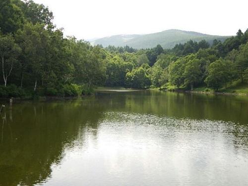 一昨日の姫木湖