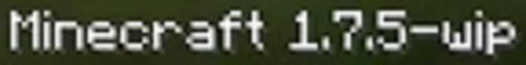 Minecraft 1-7-5-1