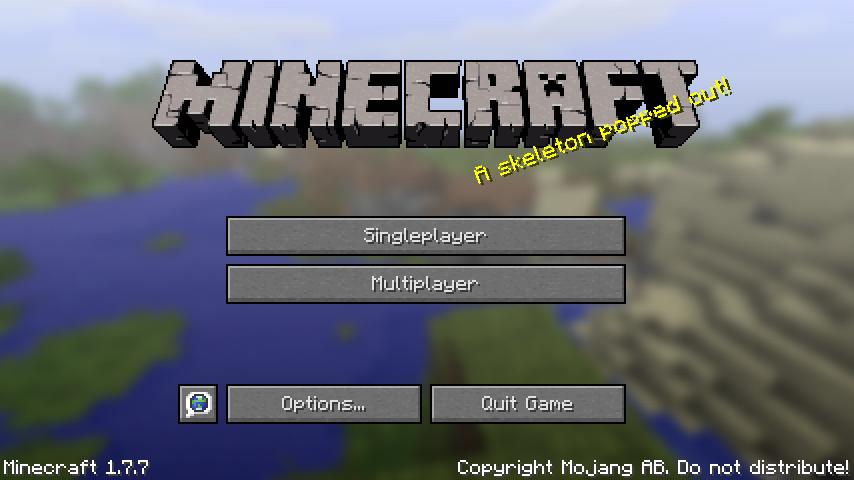 Minecraft 1-7-7