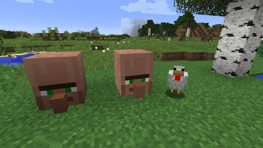 3D村人リソースパック-2