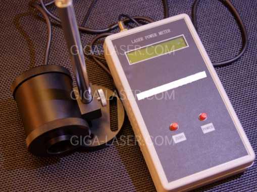 レーザーパワーメーター(出力測定器)