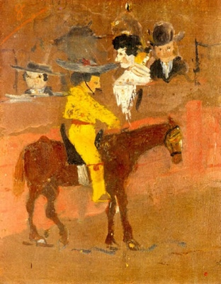 ピカソ9歳の絵
