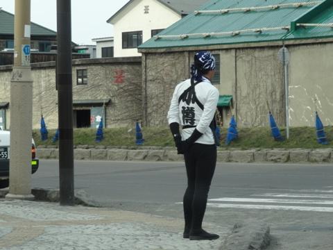 小樽の人力車兄ちゃん(2014.04.20)
