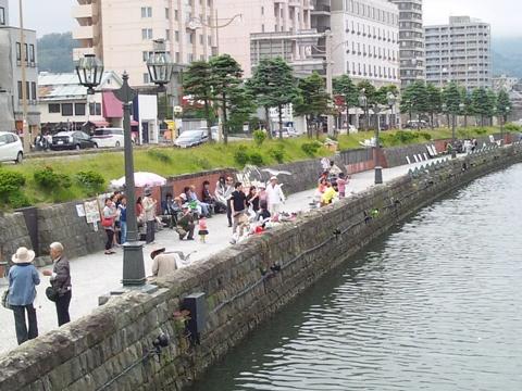 小樽運河(2014.06.22)