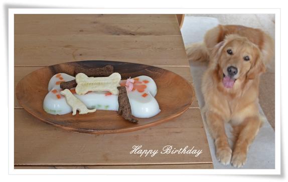 ララと誕生日ケーキ201406