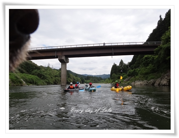 カヤックながら川201407