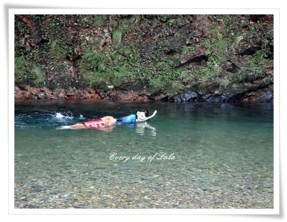 平行泳ぎ201407
