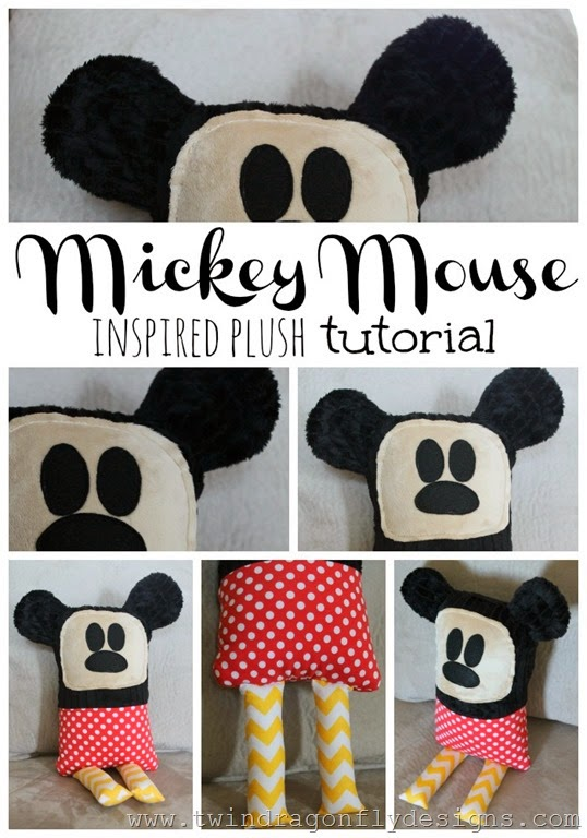 Mickey mouse inspired plush tutorial_thumb