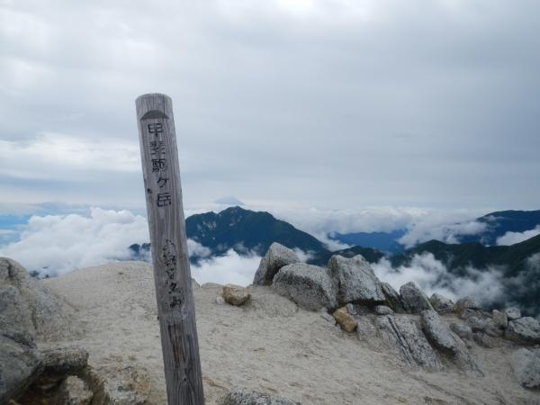 甲斐駒ケ岳・仙丈ケ岳 158