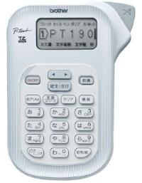 ブラザー工業 ラベルライター P-touch 190 シルバー PT-190S