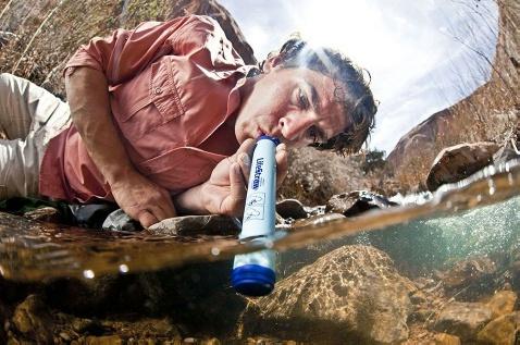 ライフストロー 携帯用浄水器 1000リットル 除菌剤不必要