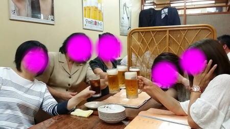 名古屋組と大阪組と・・・・・