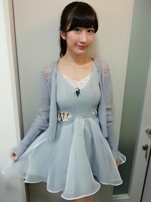 元AKB48石田晴香さんのおっぱい