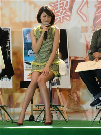 長澤まさみ、大胆濡れ場 香港映画「太平論」でFカップ乳あらわに
