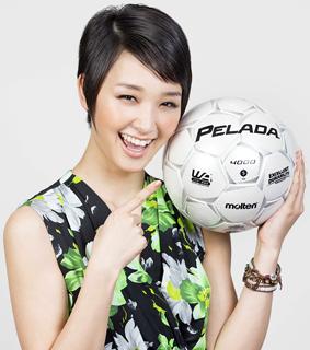 剛力彩芽がサッカーW杯の日本代表に熱い応援メッセージ