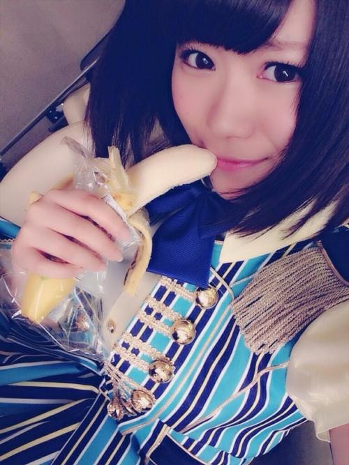 【SKE48】下品?山内鈴蘭がバナナ写真で謝罪…「真面目に受け取らないで」