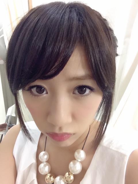 【AKB48】高橋みなみ(23) 髪を黒髪に染める 「めっちゃ可愛い」絶賛の声が殺到