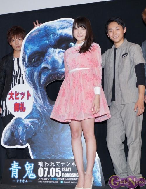 入山杏奈(18)復帰で注目の映画「青鬼」が大ヒット ニコニコ動画で記録を樹立